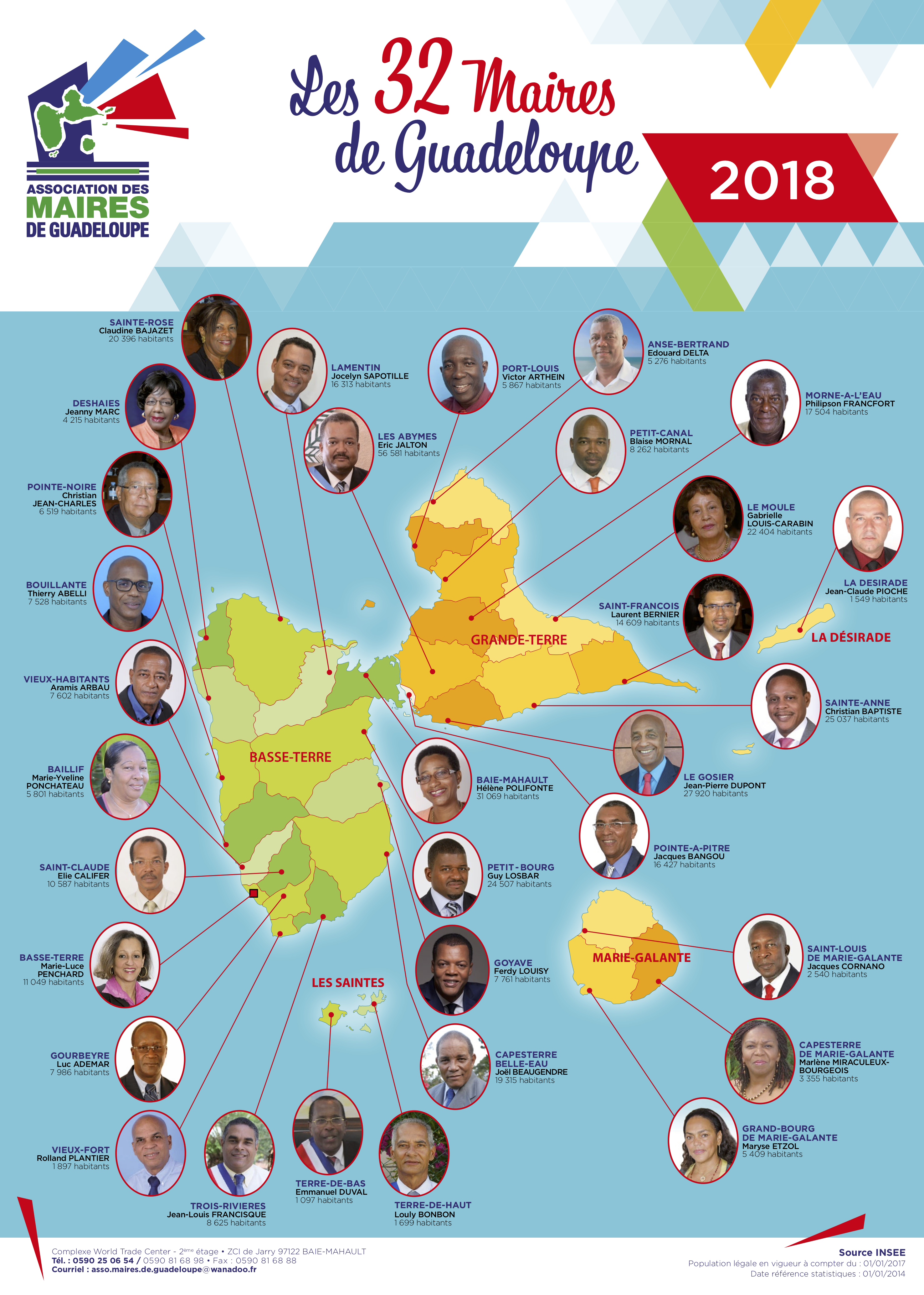 asso maires - affiche 50x70 - trombinoscope 2018 - bat2